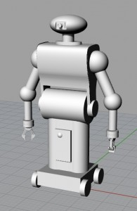 Model of Toy Robot