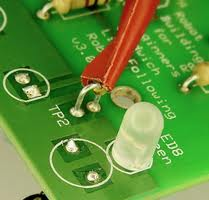 Easy to use test point designed into circuit board
