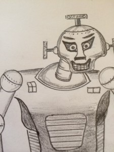 Berserk Robot